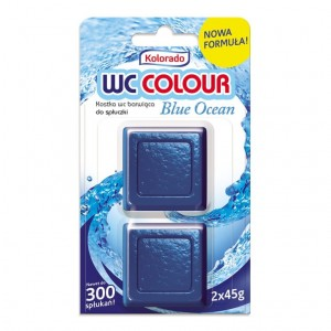 Kolorado kostka do spłuczki WC COLOUR 2x45g