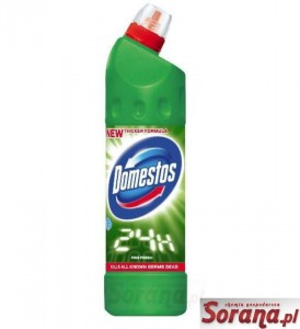 DOMESTOS 750ml płyn do WC